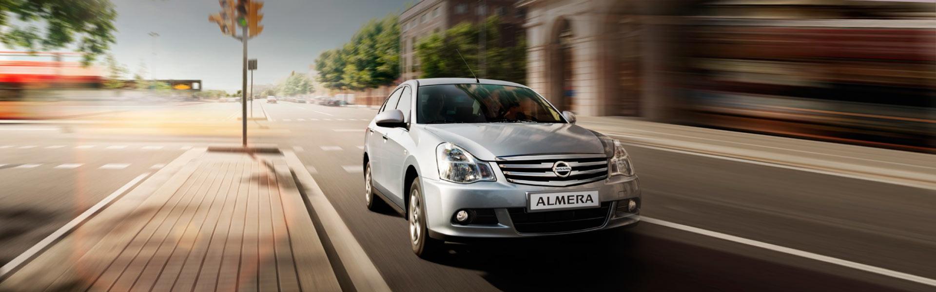 Запчасти на Nissan Almera